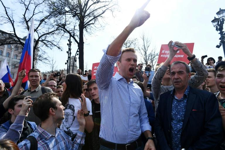 Top Kremlin critic Alexei Navalny accused Putin of wanting to remain 'leader for life'