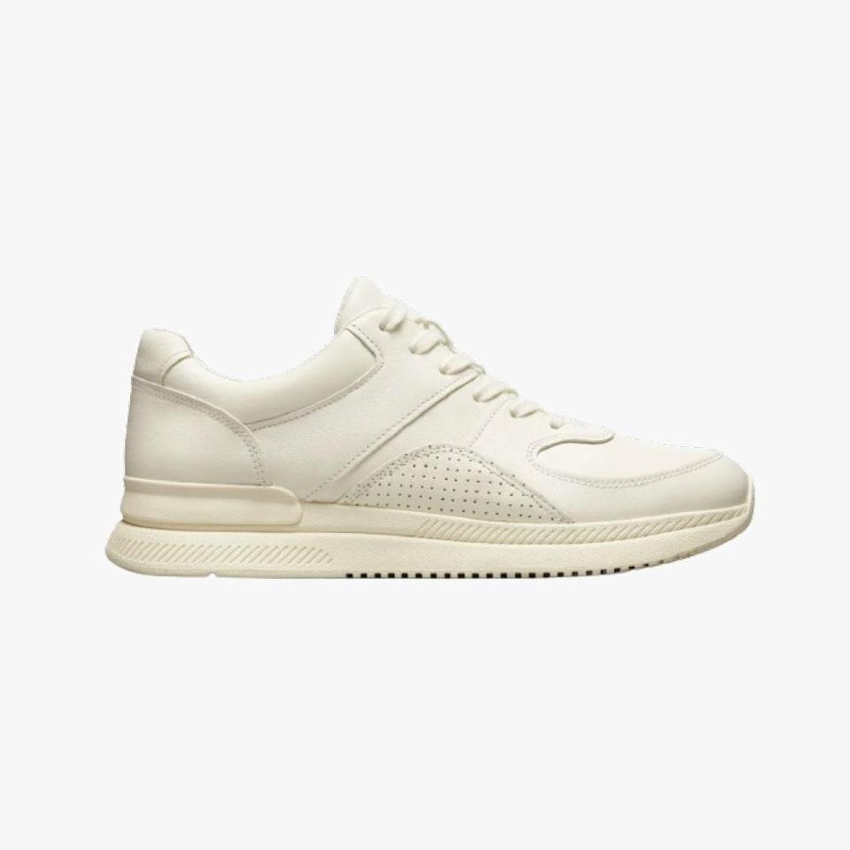 "$98, EVERLANE. <a href=""https://www.everlane.com/products/womens-trainer-grey?collection=womens-tread-sneaker#"" rel=""nofollow noopener"" target=""_blank"" data-ylk=""slk:Get it now!"" class=""link rapid-noclick-resp"">Get it now!</a>"