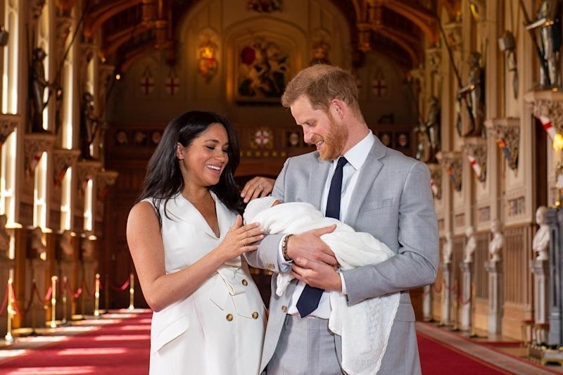 Harry and Meghan post adorable photograph of Archie to celebrate Father's Day