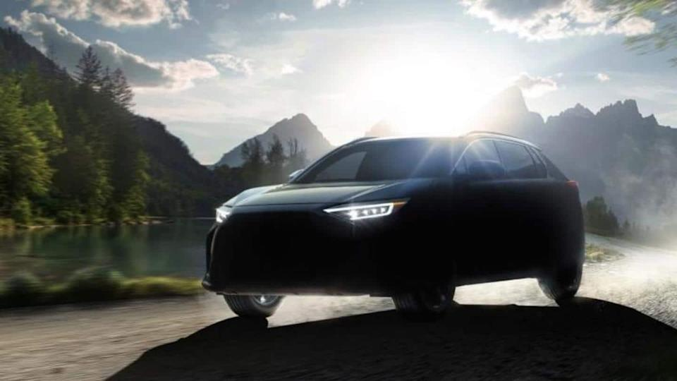 Subaru teases its Solterra electric car; to debut next year