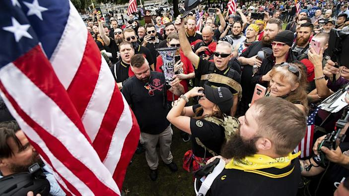 Portland braces itself for large right-wing rally
