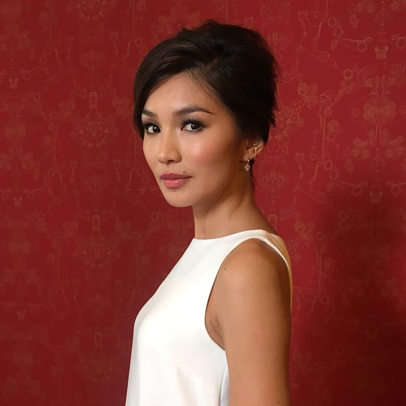 crazy rich asians star gemma chan turns the red carpet into a