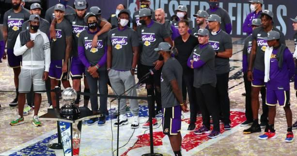 Basket - NBA - Cinq choses à savoir sur les Los Angeles Lakers et la finale NBA