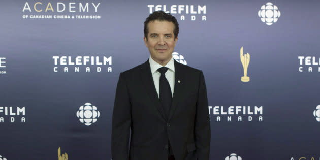 Rick Mercer arrives on the red carpet at the Canadian Screen Awards in Toronto on March 12, 2017.