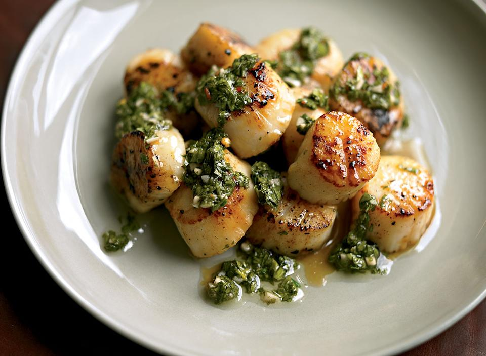 Paleo scallops with chimichurri - 63+ Best Healthy Keto Recipes To Keep You In Ketosis