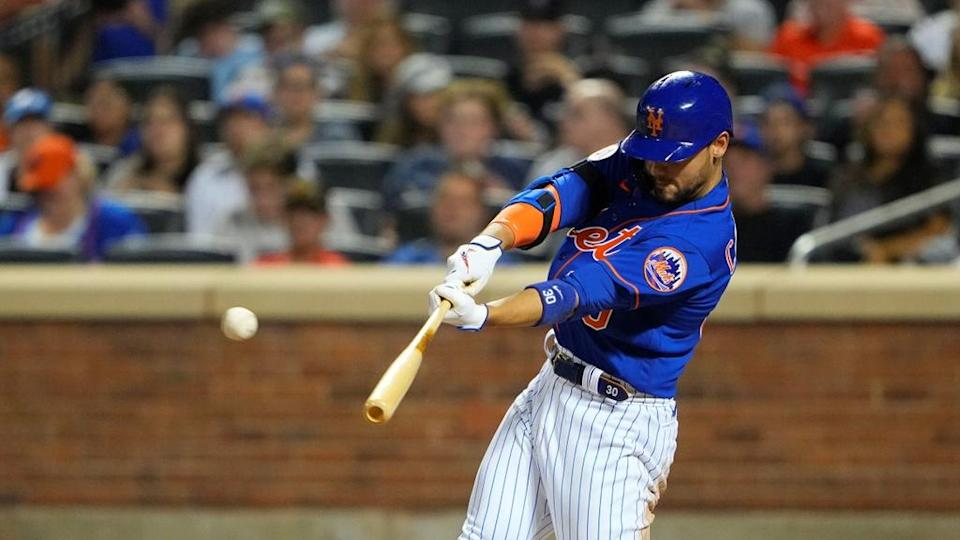 Conforto about to hit HR home blues