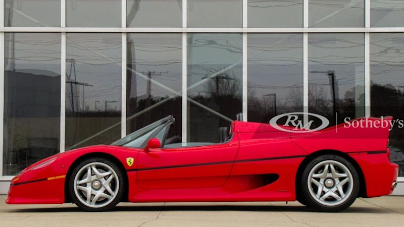 Three Ferraris Poised To Set Online Auction Record