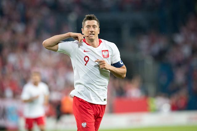 <p>Robert Lewandowski is part of the Poland squad valued at €293m. </p>