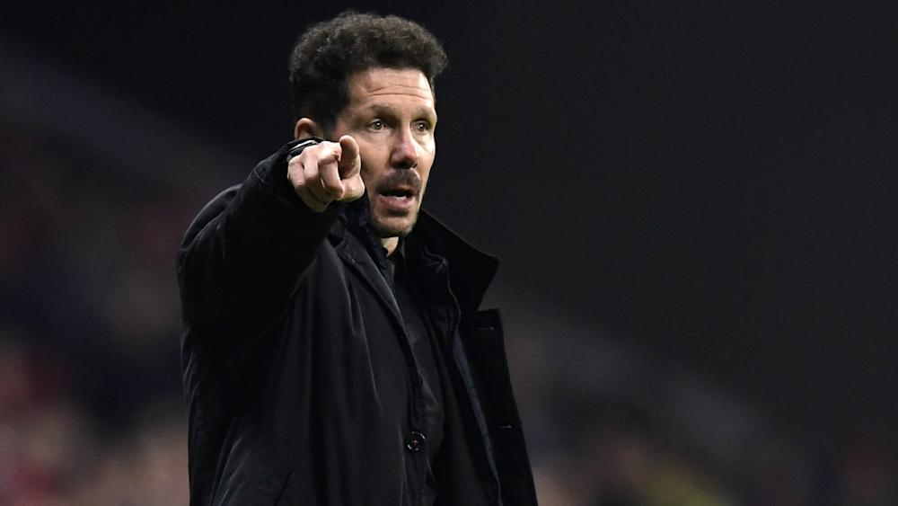 Diego Simeone Atletico Madrid Roma
