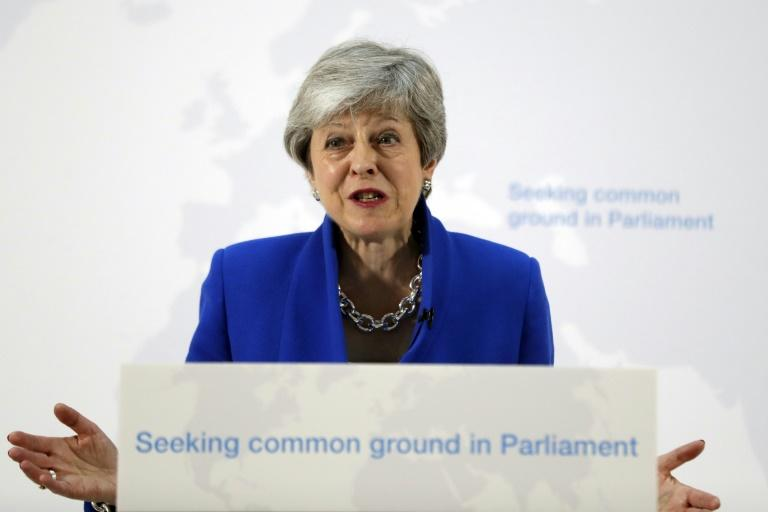Theresa May promised to give lawmakers a vote on holding a second Brexit referendum and dangled a package of sweeteners she hoped could resolve the Brexit crisis