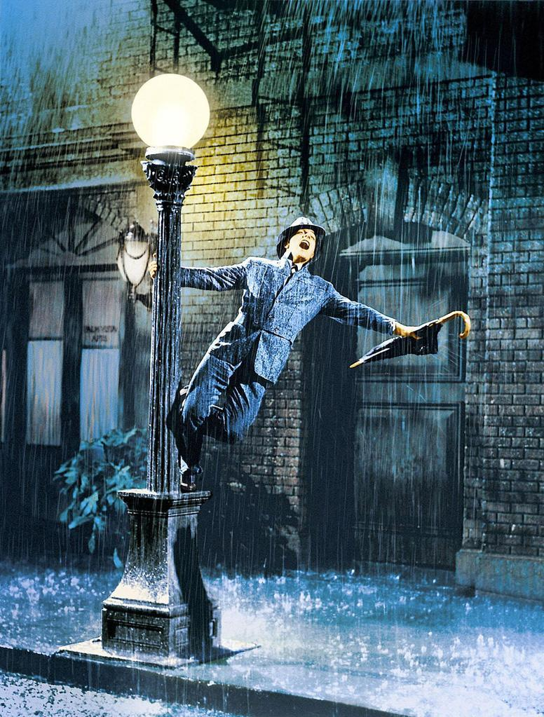 """<a href=""""http://movies.yahoo.com/movie/singin-in-the-rain/"""" data-ylk=""""slk:SINGIN' IN THE RAIN"""" class=""""link rapid-noclick-resp"""">SINGIN' IN THE RAIN</a> (1952) <br>Directed by: <span>Stanley Donen</span> and <span>Gene Kelly</span><br>Starring:<span>Gene Kelly</span>, <span>Donald O'Connor</span> and <span>Debbie Reynolds</span>"""