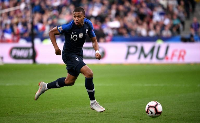 Kylian Mbappe has retained his sparkling World Cup form for France