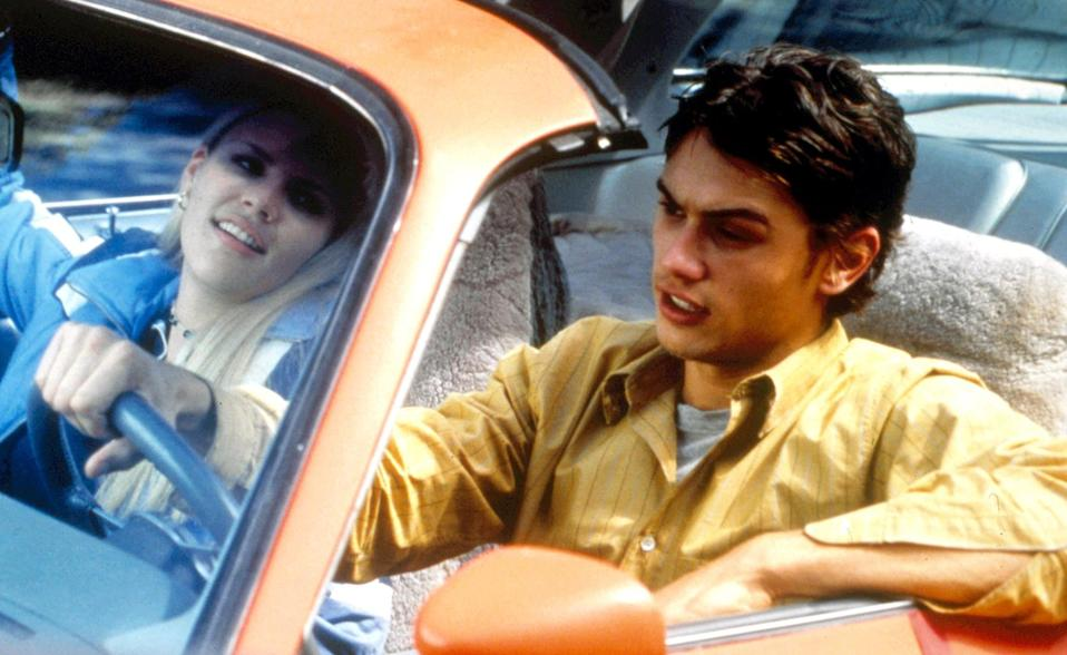Busy Philipps and James Franco in <em>Freaks and Geeks</em>. (Photo: NBC/Courtesy of Everett Collection)