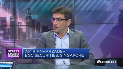 Amir Anvarzadeh, director of Japan Equity Sales, BGC Securities (Singapore), said he is shorting Toshiba because after the sale of its chip unit, the other businesses generally lag the market.