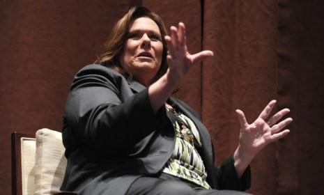 """""""I'm not a fly on the wall,"""" says debate moderator Candy Crowley. """"We don't want the candidates to spout talking points. That doesn't help voters."""""""