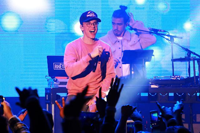 "<p>The rule change also explains how Logic is eligible, even though he's on his third album. That album, <i><span>Everybody</span></i><span>, debuted at No. 1 and spawned a top five single, ""1-800-273-8255."" (Logic may be competing in this category with both of the featured artists on that smash.)<br>(Photo: Rachel Murray/Getty Images)</span> </p>"