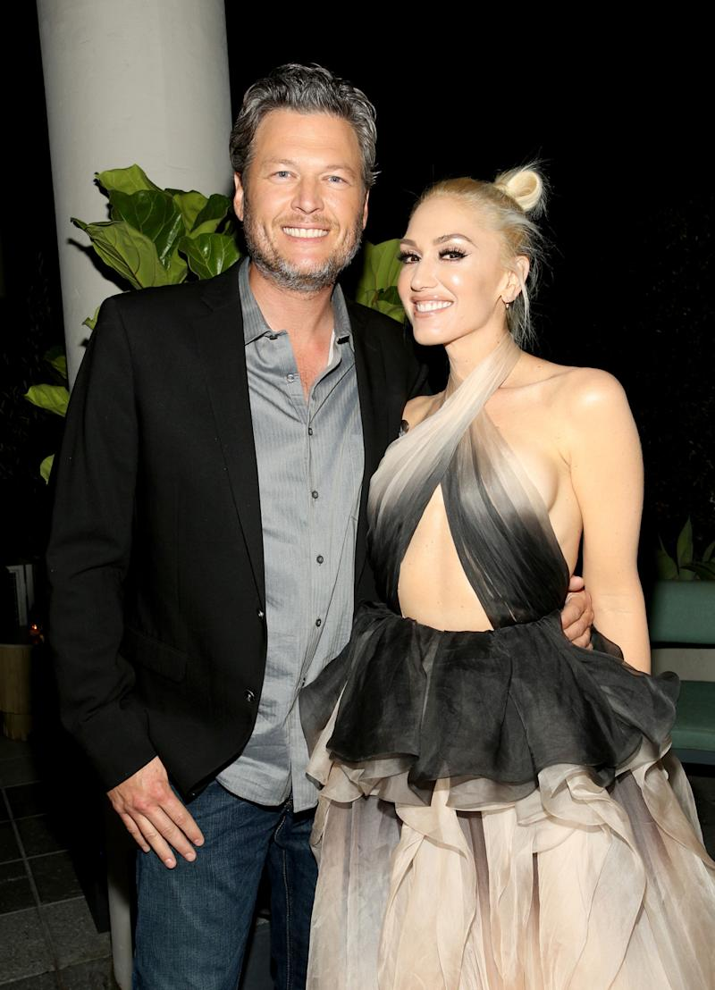 Blake Shelton Wants Advice After Seeing Gwen Stefani's Image Splashed on Empire State Building