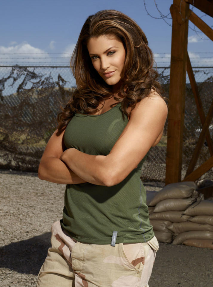 "WWE Diva Eve Torres competes on NBC's ""Stars Earn Stripes."""