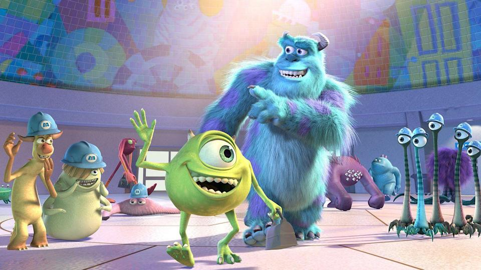 "<p>Pixar has a knack for pulling off the unexpected. In <em>Monsters, Inc.</em>, it sets up a backwards world where monsters are believably scared of kids — <em>and</em> it makes a movie about office politicking that isn't boring. (Lots of adult movies can't pull that second thing off.)</p><p><a class=""link rapid-noclick-resp"" href=""https://go.redirectingat.com?id=74968X1596630&url=https%3A%2F%2Fwww.disneyplus.com%2Fmovies%2Fmonsters-inc%2F5vQuMGjgTZz5&sref=https%3A%2F%2Fwww.redbookmag.com%2Flife%2Fg35149732%2Fbest-pixar-movies%2F"" rel=""nofollow noopener"" target=""_blank"" data-ylk=""slk:DISNEY+"">DISNEY+</a> <a class=""link rapid-noclick-resp"" href=""https://www.amazon.com/Monsters-Inc-John-Goodman/dp/B00BHUB11Y?tag=syn-yahoo-20&ascsubtag=%5Bartid%7C10063.g.35149732%5Bsrc%7Cyahoo-us"" rel=""nofollow noopener"" target=""_blank"" data-ylk=""slk:AMAZON"">AMAZON</a></p>"