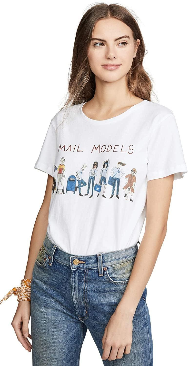 <p>This <span>Unfortunate Portrait Women's Mail Models Tee</span> ($78) delivers one silly illustrated message. </p>
