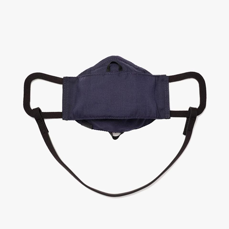 """$20, LO & SONS. <a href=""""https://www.loandsons.com/products/all-day-comfort-face-mask-cotton-poly-deep-navy"""" rel=""""nofollow noopener"""" target=""""_blank"""" data-ylk=""""slk:Get it now!"""" class=""""link rapid-noclick-resp"""">Get it now!</a>"""