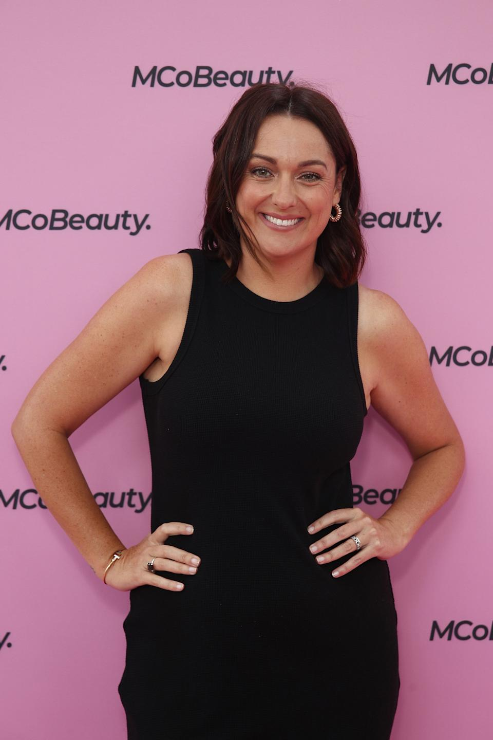 SYCeleste Barber attends the Celeste Barber x MCoBeauty