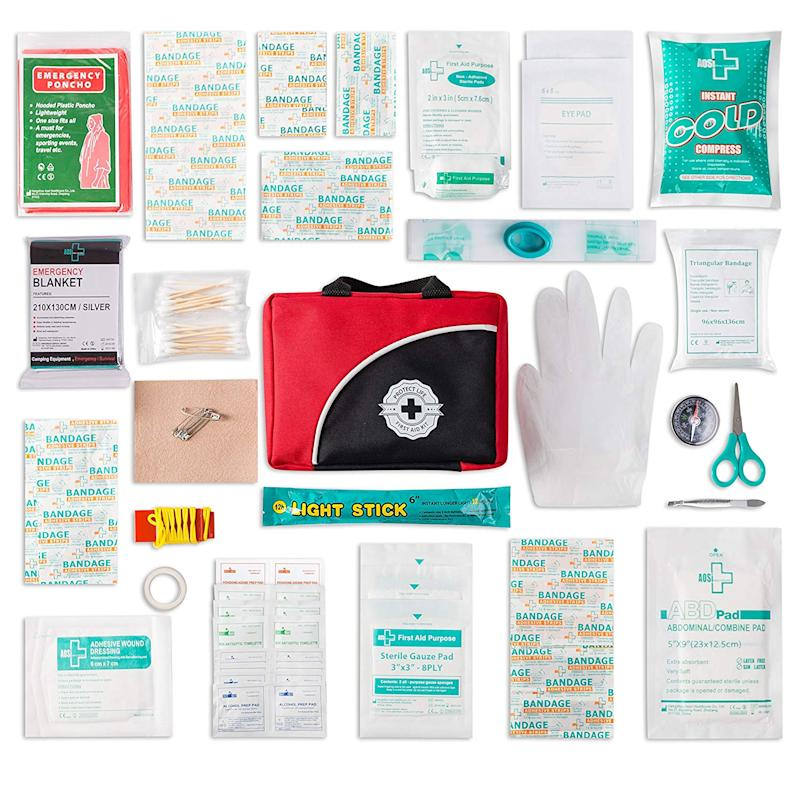 First Aid Kit- 150 piece (Photo: Amazon)