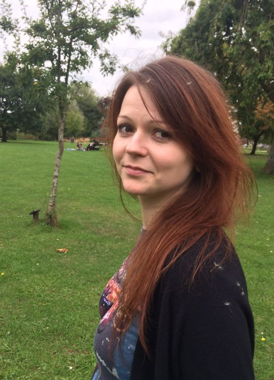 Yulia Skripal is critically ill in hospital with her father Sergei