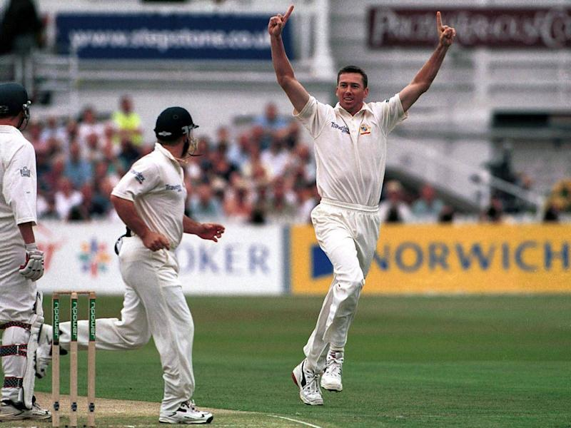 Finn's target was supposed to be a Curtly Ambrose, will he now be a Glenn McGrath? (Getty)