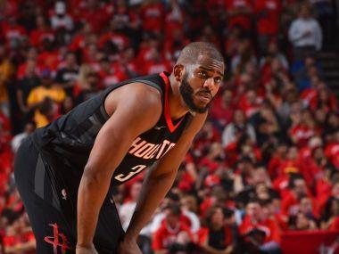 Houston said Paul will be re-evaluated after the Rockets return from Saturday's Western Conference matchup against the Warriors, with Houston leading the best-of-seven series 3-2 entering Game Six at Oakland, California.