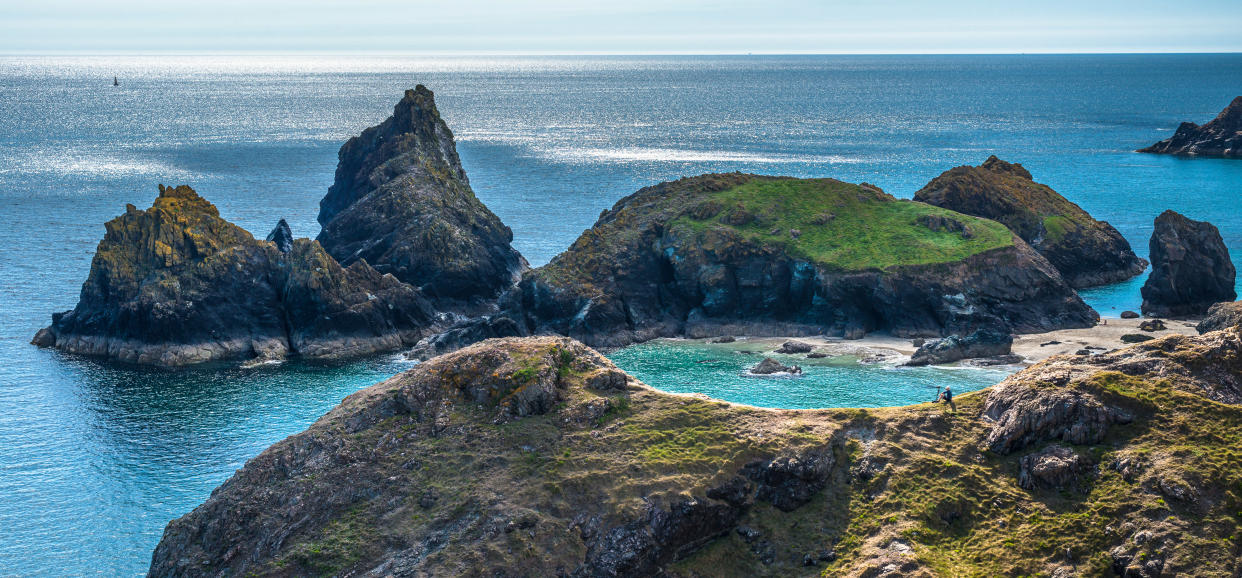 The gorgeous hues of the Lizard Peninsula in Cornwall (Getty Images)