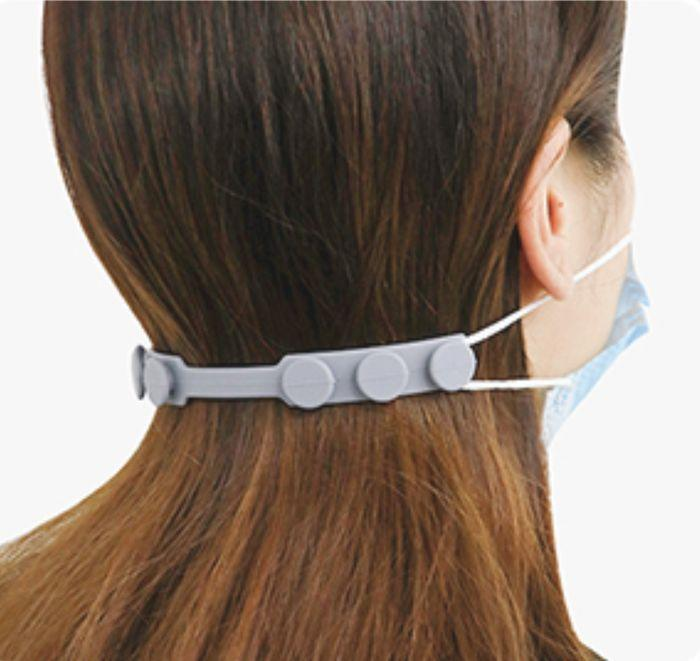 """Not only does it take some of the pressure off your ears, but it helps make a more personalized fit on masks with elastic straps that don't<i>quite</i>fit your face, so you don't have to replace them.<br /><br />People are also using these to prevent their hearing aids or earbuds from falling out and getting lost while they're taking masks on and off. Plus this silicone ear-saver is anti-slip to keep it locked in place, and designed not to get tangled in hair.<br /><br />Psst — a lot of reviewers mention<strong>this worked great for kids' masks</strong>, especially since sizing for kids' faces is all over the place and difficult to measure out when you're buying masks online!<br /><br /><strong>Promising review:</strong>""""Yay! These work as well as I hoped they would for ear-loop style masks (with elastic loops)! I have smallish ears that are a little more diagonal than usual,<strong>so some masks slip off my ears too easily, and others droop and gap a bit.</strong>I was looking at everything from velcro cord organizers to bra extenders and crocheted ear savers with buttons (those are pretty good too), for a better way to secure my masks. I also wanted to find something suitable for my older relatives with dexterity issues.<strong>These are the overall winner! They feel sturdy, and the multiple knobs make them very adjustable.</strong>I've used them with KN95s, pleated procedure style medical masks, and handmade fabric masks that have elastic ear loops."""" —<a href=""""https://www.amazon.com/gp/customer-reviews/RCUCZNFJKP0M8?&linkCode=ll2&tag=huffpost-bfsyndication-20&linkId=3937e7475cdd3b4b3ec8042b9e424c8e&language=en_US&ref_=as_li_ss_tl"""" target=""""_blank"""" rel=""""nofollow noopener noreferrer"""" data-skimlinks-tracking=""""5738624"""" data-vars-affiliate=""""Amazon"""" data-vars-href=""""https://www.amazon.com/gp/customer-reviews/RCUCZNFJKP0M8?tag=bfemmalord-20&ascsubtag=5738624%2C2%2C35%2Cmobile_web%2C0%2C0%2C0"""" data-vars-keywords=""""cleaning,fast fashion"""" data-vars-link-id=""""0"""" data-vars-price"""