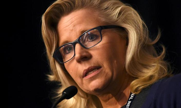 Liz Cheney, the daughter of former vice-president Dick Cheney.