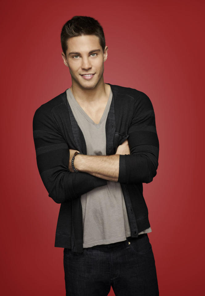 "Dean Geyer as Brody in ""Glee."""