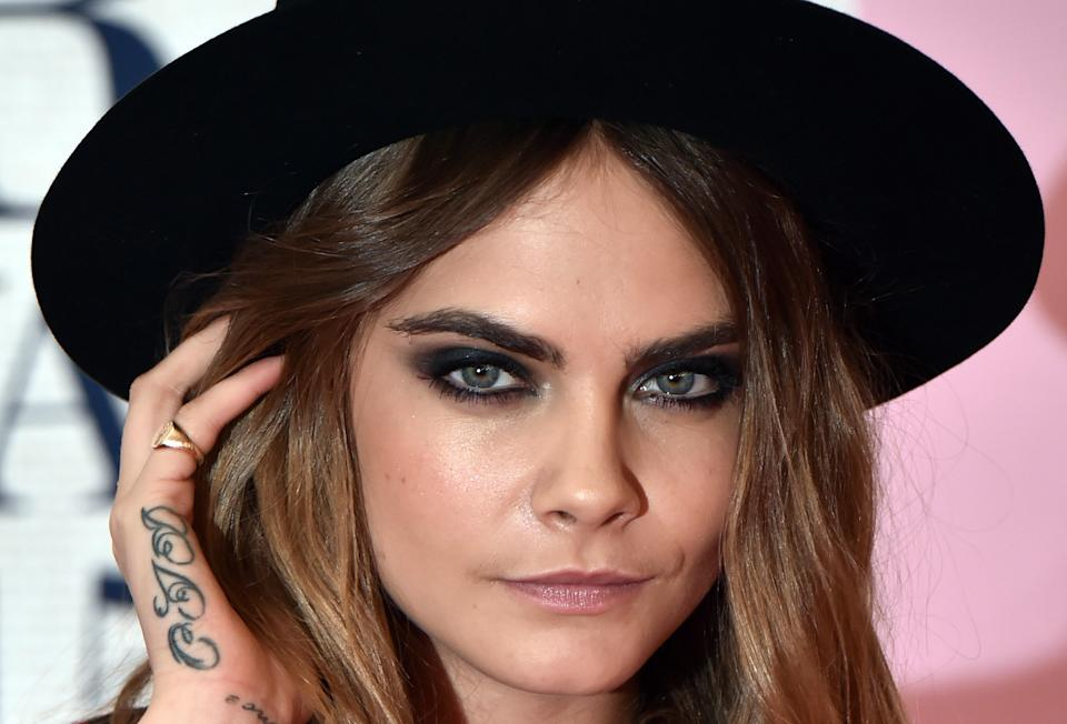We have eyes for Cara Delevingne's new neck tattoo and it has eyes for us