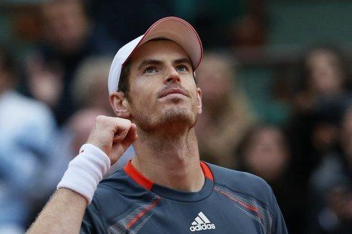 Britain's Andy Murray reacts after defeating France's Richard Gasquet during their French Open men's singles fourth round match on June 4. Murray will have his eyes on David Ferrer, one of the finest claycourters of the last few years