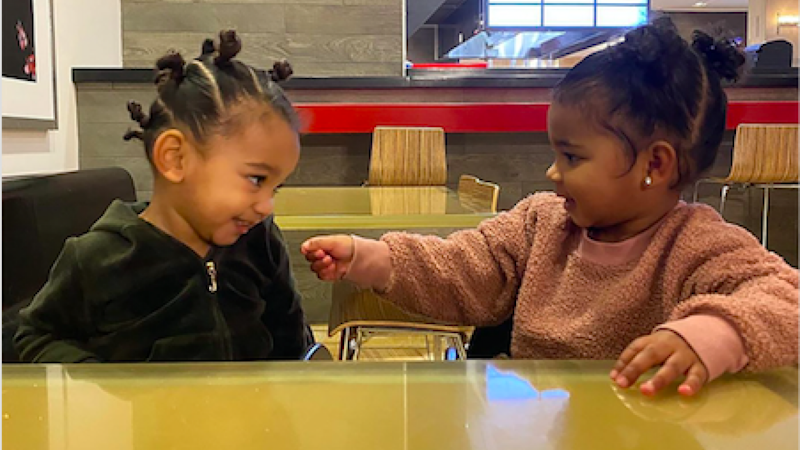 Chicago West & True Thompson Take Target and It's the Cutest Thing You'll See All Day