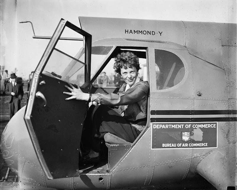 Amelia Earhart disappeared in 1937 during a circumnavigational flight of the globe. — Pix courtesy of National Geographic