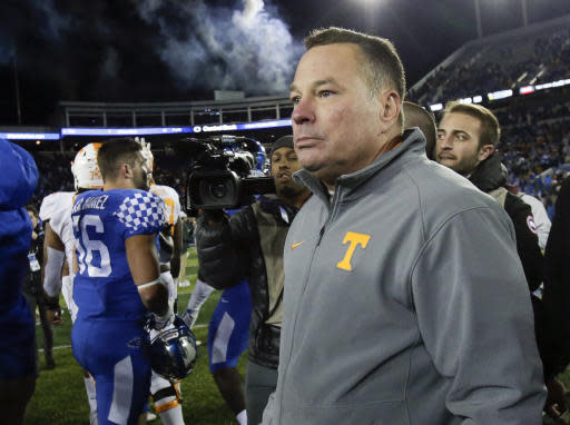 Tennessee is 3-5 in 2017. (AP Photo/David Stephenson, File)