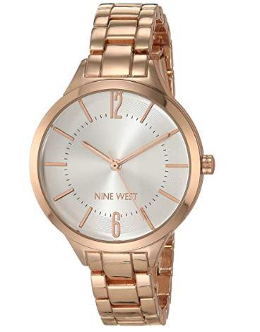 Nine West Women's Bracelet Watch [Photo via Amazon]