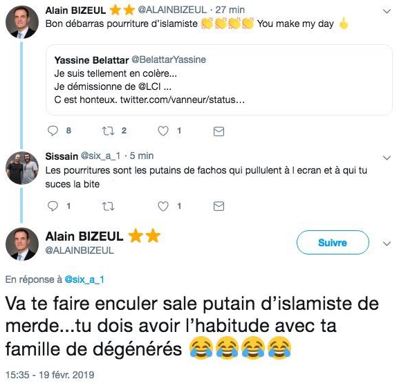 Nocibé: Le directeur marketing insulte Yassine Belattar, des internautes appellent au boycott