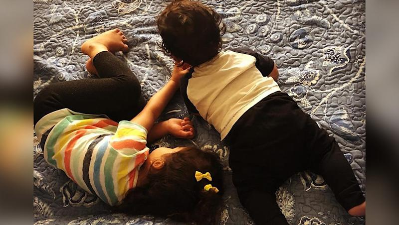 Mira Rajput Shares an Adorable Click of Misha and Zain and We Can't Help But Keep Staring at It - View Pic