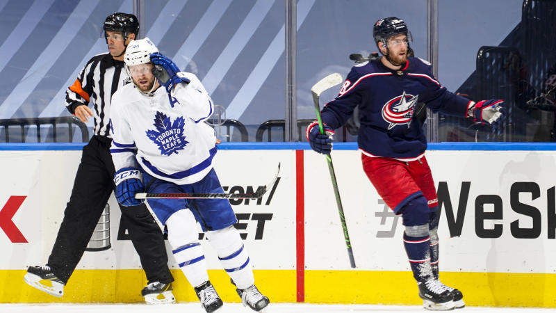 Blue Jackets eliminate Maple Leafs with Game 5 shutout victory