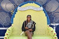 <p>at the American Express Courts unveiling at Hudson River Park's Pier 76 on Aug. 24.</p>