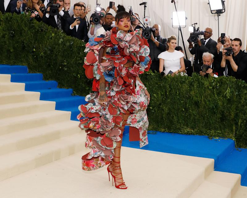Why Did So Few Stars Take a Fashion Risk at the 2017 Met Gala?