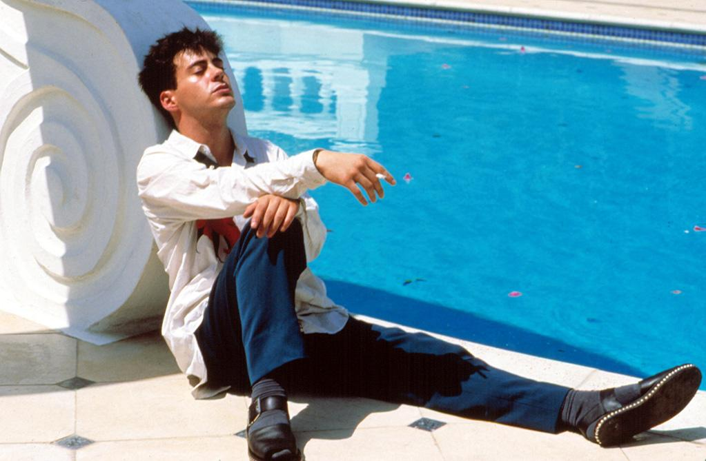 """High: <a href=""""http://movies.yahoo.com/movie/1800088216/info"""">LESS THAN ZERO</a> (1987)   The movie might have received mixed reviews, but critics singled RDJ out for his soulful turn as a troubled young drug addict. In hindsight, the role hinted at some troubles to come."""