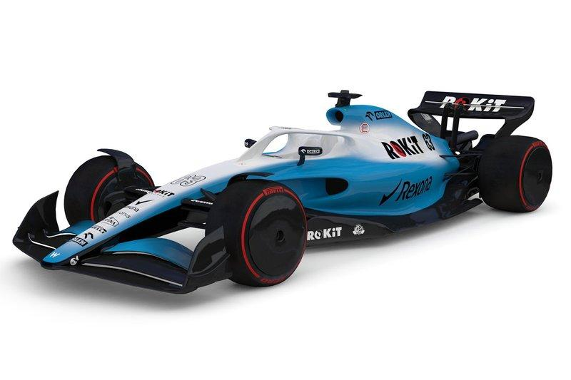 "Coche de Williams F1 2021<span class=""copyright"">Williams </span>"