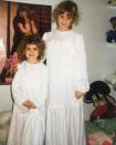 """<p>Amy Schumer, throwing it back to when she and younger sister Kim Caramele first fell in love with <i>Dirty Dancing </i>and wore matching nightgowns: """"We had the time of our life #swayzemanager #fievel #fbf"""" -<a href=""""https://www.instagram.com/p/BHnf-fqBHkG/?tagged=fbf"""" rel=""""nofollow noopener"""" target=""""_blank"""" data-ylk=""""slk:@amyschumer"""" class=""""link rapid-noclick-resp"""">@amyschumer</a> (Instagram) </p>"""
