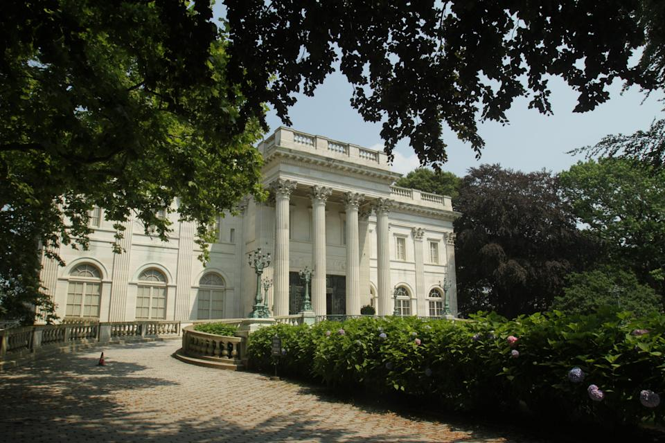 The Marble House mansion in Newport, R.I., is opening Monday for the first time in nearly a year.