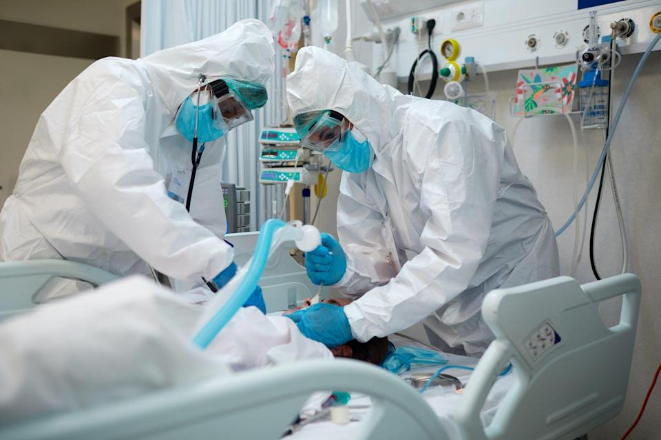 The contract was to supply protective masks for hospital workers (Getty Images)
